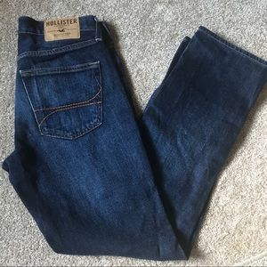 Hollister men's slim straight button fly jeans